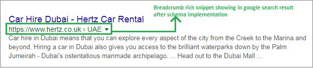 breadcrumbs schema -envigo