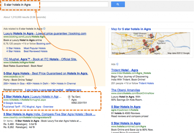 Map your business with Google Places